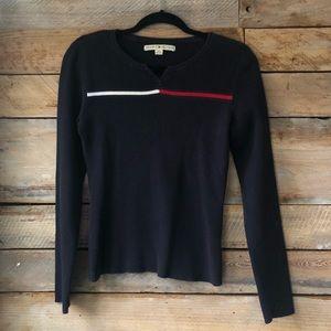 Vintage Tommy Hilfiger Logo Sweater